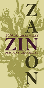Zanon Zinfandel 2014 Old Vine Dry Creek Valley