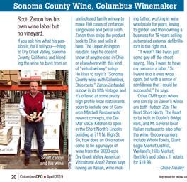 Scott Zanon - Columbus CEO Magazine article
