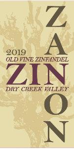 2019 Zanon Zinfandel Old Vine Dry Creek Valley