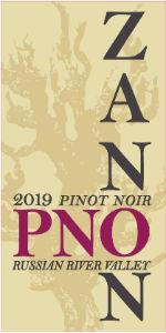 2019 Zanon Pinot Noir Russian River Valley